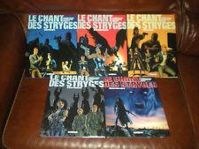 LE CHANT DES STRYGES - CORBEYRAN / GUERINEAU - LOT DE 5 TOMES DU 3 AU 7 EN EO