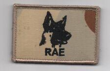 RAE AUSTRALIAN ARMY DOG HANDLERS PATCH DESERT CAMO   NEW