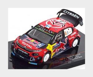 Citroen C3 Wrc Red Bull #4 Rally Finland 2019 E.Lappi J.Ferm IXO 1:43 RAM725