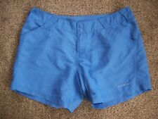 COLUMBIA PFG OMNI-SHADE FISHING SHORTS W/ POCKETS-WOMENS SIZE LARGE
