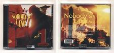 Cd NOBODY'S LAND Act 1 NUOVO Vittorio De Scalzi Venegoni Arti & Mestieri