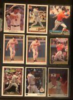 Cal Ripken Baseball card lot of 9 - Baltimore Orioles Legend - HOF       NM-MT