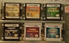 Professor Layton Complete Bundle Lot Nintendo DS 3DS Complete series tested work