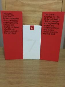 Genuine OnePlus 5T / 6 / 6T / 7 / 7T / 7T Pro Empty Retail Box - White/Red