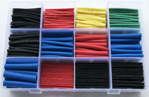 560pcs Electric Insulation Heat Shrink Sleeves Tube Assorted Cable Wire Wrap Kit