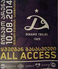 TICKET 2014/15 Dinamo Tbilisi-FK Samtredia