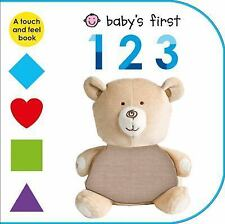Baby's First 123: A Touch and Feel Book