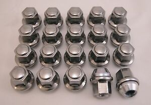 20 New Dodge Charger Challenger Magnum Factory OEM Polished Lug Nuts Lugs