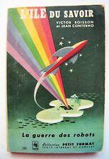 1947 1st Edition L'ILE DU SAVOIR French Canadian Science Fiction