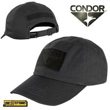 CAPPELLO BERRETTO CONDOR TACTICAL CAP ORIGINALE US ARMY MILITARE SOFTAIR NERO