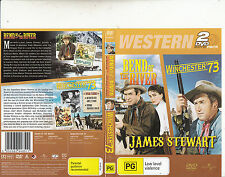 Bend of The River-1952/Winchester 73-1950-James Stewart-[2 Disc]-2 Movie-DVD