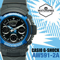 Casio G-Shock Ana Digital Sport Watch AW591-2A
