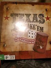 Texas Shake 'Em Dice Poker Game