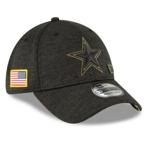 2020 Dallas Cowboys New Era 39THIRTY NFL Salute To Service Sideline Cap Hat 3930