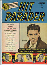 Hit Parader Jan 1959  Ricky Nelson  Johnny Mathis Connie Frances  MBX80