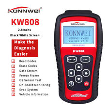 KONNWEI KW808 EOBD OBD2 Car Diagnostic Scanner Engine Code Reader Code Erase Kit