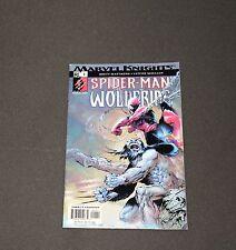 """SPIDER-MAN: WOLVERINE~MARVEL KNIGHTS~#1~""""STUFF OF LEGENDS""""~2002~VG-"""