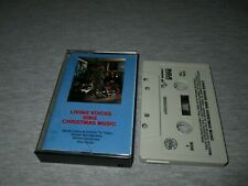 LIVING VOICES-SING CHRISTMAS MUSIC-RCA CAMDEN RECORDS CASSETTE