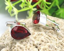 Beautiful Design Grossular Garnet 925 Silver Gemstone Jewelry Cufflinks S 0.99