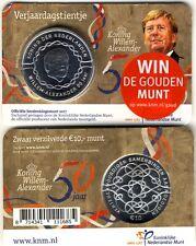 10 Euro NL 2017, 50.Geburtstag Willem-Alexander in Coincard!