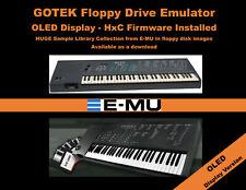 Floppy Drive Emulator OLED DISPLAY HxC Firmware - E-MU EMAX I & II +LIBRARY emu