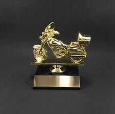 Motorcycle Award Trophy  . Free engraving.