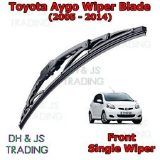"(05-14) Toyota Aygo Front Wiper Blades Windscreen 26"" Hook Type"