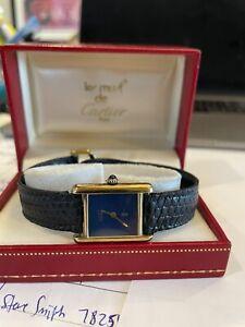 Cartier Tank 925 Argent Vintage Ladies Watch