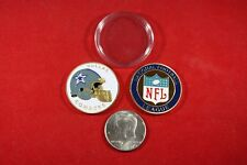 NFL Football Team Coin: Dallas COWBOYS w/ Hard Case Poker Card Protector