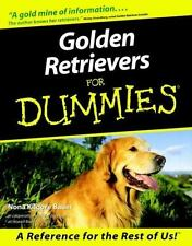 Golden Retrievers for Dummies DOGS, PETS, CANINE, CARE, BREED, PUPPY, NEW BOOK