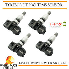 TPMS Sensori (4) tyresure T-PRO Pressione Dei Pneumatici Valvola per JAGUAR XJ [x351] 09-16