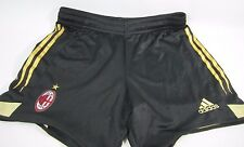 AC Milan Adidas ACM Soccer football Shorts Home Black Mens SMALL