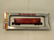 Vintage AHM Santa Fe ATSF #99246 Red Hopper Train Car HO Gauge Scale tr1139