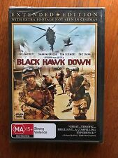 Black Hawk Down DVD Extended Edition Region 4 New & Sealed