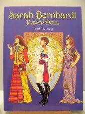 Paper Dolls Doll Book Sarah Bernhardt Cleopatra Hamlet Theater - Tom Tierney