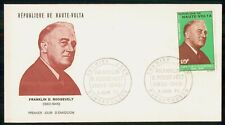 Mayfairstamps Haute Volta Fdc 1945 Franklin D Roosevelt Politician wwk_37227