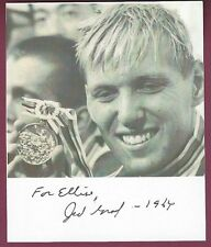 Jed Graef, US Olympic Gold Medal Swimmer, Tokyo, 1964, COA, UACC RD 036