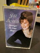 Jane Saunders Stranger to Your Heart Cassette ABC Music Australian Country 1994