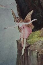 EXRare IDA OUTHWAITE 1929 LITTLE FAIRY SISTER BEAUTIFUL FAIRY TALE PLATES!! RARE