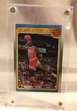 "Micheal Jordan ""All Star Team"" Fleer 1988 Basketball Card #120"
