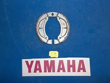 40-802 Emgo YAMAHA DIRT BIKE FRONT / REAR BRAKE SHOES  FA502 GROOVED