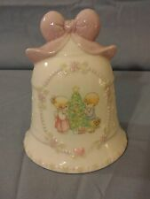 Precious Moments 1997 Songs Of Joy Spread Christmas Delight Porcelain Bell