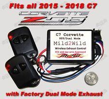 2015 - 2019 C7 Z06 Corvette Mild 2 Wild NPP Exhaust Control - FREE USA Shipping