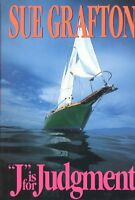 J is for Judgement (A Kinsey Millhone Mystery, Book 10) by Sue Grafton