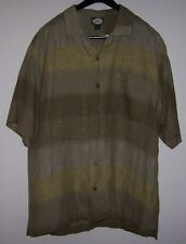 Tommy Bahama Linen Hawaiian L  excellent condition