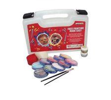 Snazaroo Professional Kit D - Face Painting - Body Paint - Sponge Brush Glitter