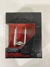 Star Wars Black Series Titanium Die Cast Vehicle 03 KYLO REN'S COMMAND SHUTTLE