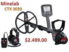 Minelab CTX 3030 The Ultimate High Performance Waterproof Metal Detector