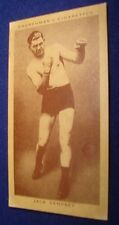 1938 Churchman's Cigarettes BOXING CARD Jack Dempsey