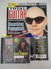 TOTAL GUITAR Magazine 47  1998 + cd Smashing Pumpkins Black Sabbath Black Crowes